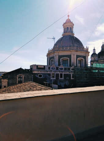 Catania centre view